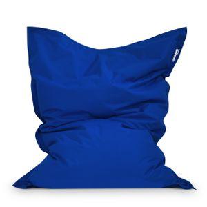 Green Bean Outdoor © SQUARE XL Garten Sitzsack 120x160 cm - Outdoor Sitzsack - Bean Bag Chair für Kinder & Erwachsene - Blau
