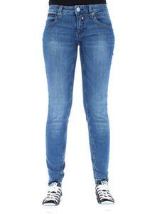 Herrlicher Damen Jeans  Touch Cropped  076 Blend, Farbe:blau, Herrlicher Jeans:W27