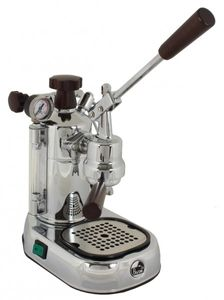 La Pavoni Professional Lusso PLH Siebträger Espressomaschine Silber