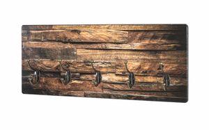 Haku Wandgarderobe, natur - Maße: 60 cm x 8 cm x 25 cm; 18888