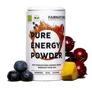 Energy-Drink Pulver mit Guarana & Acai und vielen weiteren Superfoods [Vegan Booster aus Deutschland] - Gesunde & vegane Alternative zu Energydrinks & Kaffee aus Superfoods (100g)