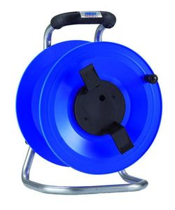 HEDI G2Y000 Kunststoff-Kabeltrommel Professional, leer, blau ****