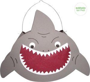 Laternen Bastelset Hai, 8 Stück
