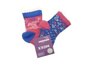 MEXX - Baby 2er-Pack Socken pelican pink für Mädchen 19-21