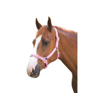 Shires Pferdehalfter Verstellbar ER718 (X Full) (Pink)