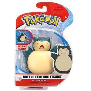 Auswahl Battle Feature Figuren | Pokemon | bewegliche Deluxe Action Figur, Spielfigur:Relaxo