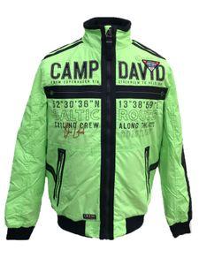 Camp David Herren Blouson CCB-1907-2893 Übergangsjacke Jacke Windjacke neon green (L)