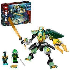 LEGO 71750 NINJAGO Lloyds Hydro-Mech, Unterwasser Set, Spielzeug  für Kinder ab 7 Jahre mit 2 Ninja Mini Figuren