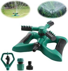 Clanmacy Rasensprenger Sprinkler 360¡ã Viereckregner Garten Kreisregner 360 Grad Regner