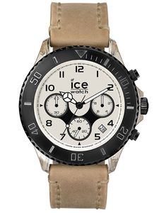 Ice-Watch VT.CH.SD.BB.L.14 Ice Vintage CH Sand Big Big Chrono Uhr