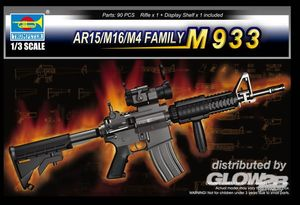 Trumpeter AR15/M16/M4 FAMILY-M933 1:3, 01917