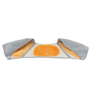 Schulterwärmer Nackenwärmer Schulterstütze Schulterschutz verhindern Erkältung L Grau