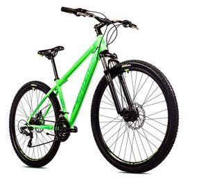 breluxx® 29 Zoll Mountainbike Hardtail FS Disk Level 9.X Sport neon-grün, 21 Gang Shimano, FS + Scheibenbremsen D2 - Modell 2021