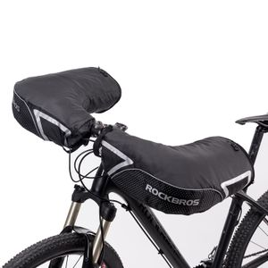 ROCKBROS Lenkerstulpen Für Fahrrad Motorrad Lenker Handschuhe Winter Warm Winddicht Reflektierend