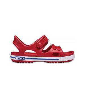 crocs Crocband II Sandal Kids Pepper / Blau Jean Croslite Größe: 33/34 Normal