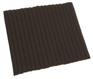 Covalliero Kerbl Bandagierunterlage für hinten 49 x 48 cm, Farbe:schwarz