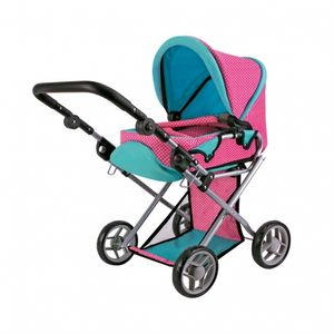 Speelgoed Kinder Puppenwagen Rose 3in1 Puppen Sportwagen Kinderwagen Set