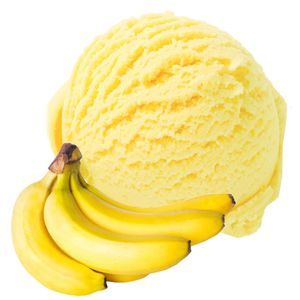 Banane Geschmack Eispulver Softeispulver 1:3 - 1 kg