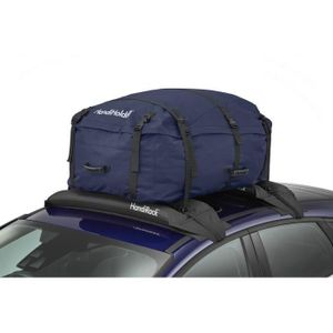 HANDIWORLD HandiHoldall Kapazität 330 Liter - Weiche Dachbox - Faltbar - Wetterbeständig - Blau