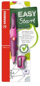 STABILO Schreiblernbleistift EASYergo 3.15 pink für Rechtshänder