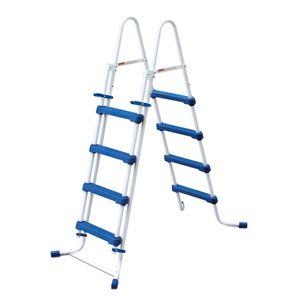 Summer Waves Poolleiter Sicherheitsleiter Einstiegsleiter Schwimmbad Leiter, Größe:91cm - 3 Stufen