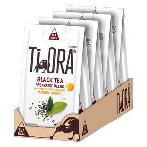 Ti Ora Schwarzer Tee BREAKFAST BLEND Manuka Honig Neuseeland 60 x 2,5 g Beutel