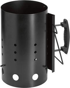 XL Anzündkamin 31cm Schnellanzünder Grillkohle Grill Kohle Anzünder Grillstarter