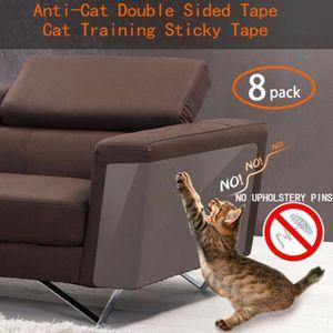 Miixia 8 Stücke Haustier Katze Kratzschutz Matte Katze Kratzbaum Sofa Möbel Protector 45x30 cm