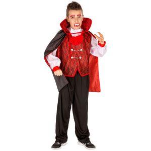 dressforfun Jungenkostüm Graf Dracula - 128 (8-10 Jahre)