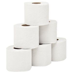 vidaXL 2-lagiges Geprägtes Toilettenpapier 128 Rollen 250 Blätter