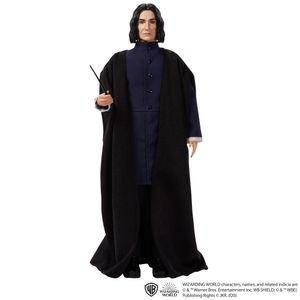 Harry Potter Professor Snape Puppe (ca. 30 cm) mit Zauberstab