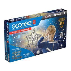 Geomag Classic Silber Set 106 teilig Magnetspielzeug