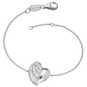 Engelsrufer ERB-LILHEARTWING Silber-Armband Herzflügel