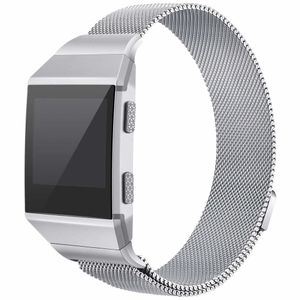 Fitbit Ionic Armband Milanaise Edelstahl silber (S)