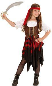 Kostüm Pirat Mädchen Größe: 128