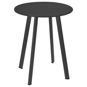 ProGarden Tisch 40x49 cm Matt-Dunkelgrau