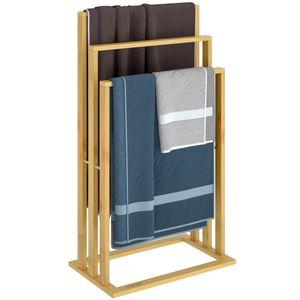 Handtuchhalter Bambus mit Bambusstangen, Anzahl:1x