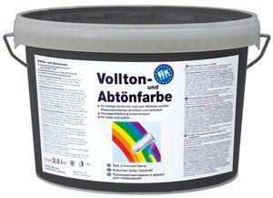 fix 2000 Vollton- und Abtönfarben - schwarz - 2,5 Liter