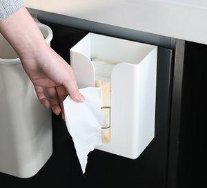 Tücherbox Taschentuch Spender Kosmetiktücher Box für Wand oder Decken Montage
