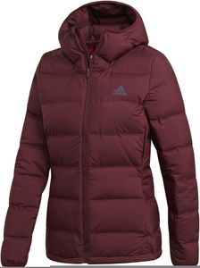 adidas TERREX Helionic Kapuzen-Daunenjacke Damen maroon Größe S