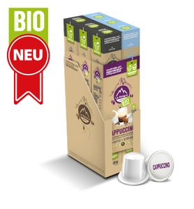 CappuccinoKaffee - Milch - 60 Kapseln La Natura Lifestyle