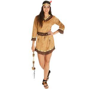 dressforfun Frauenkostüm Indianerin Apache sexy Ashley - M