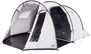 High Peak 5 Personen Campingzelt mit Wohn-/Stauraum hitzeabweisend Tunnelzelt geräumiges Festivalzelt mit Stehhöhe Familienzelt 3.000 mm wasserdicht UV 80 Sonnenschutz Innenzelt abgedunkelt