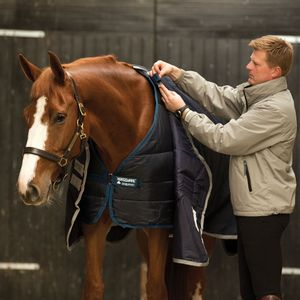 "Horseware Liner Unterdecke 100 g marineblau/marineblau 130cm 6'0"""
