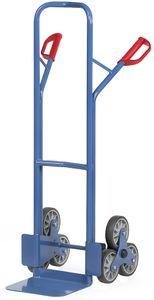 fetra Stahlrohr Treppenkarre TK1325 2 dreiarmige Radsterne Speditionsversand
