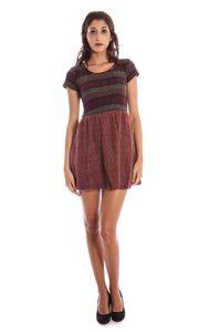 LAVAND - Kurzes Kleid Damen, Farbe: Violett, Größe: XL