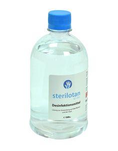 Sterilotan desinfektionsmittel für hände und flächen 500ml