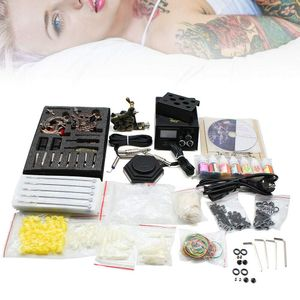 Profi Tätowierung Tattoo Maschine Tätowierset Komplett Kit Satz 7x Tätowierfarben 3 Tattoo Maschine 50tlg. Nadeln Hoch Qualität DHL