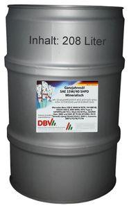 DBV SAE 15W/40 SHPD-Ganzjahresöl  mineralisch 208-Liter-Fass