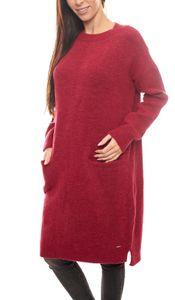 s.Oliver RED LABEL Strick-Kleid stylisches Damen Herbst-Kleid mit überschnittenen Schultern Pink, Größe:46